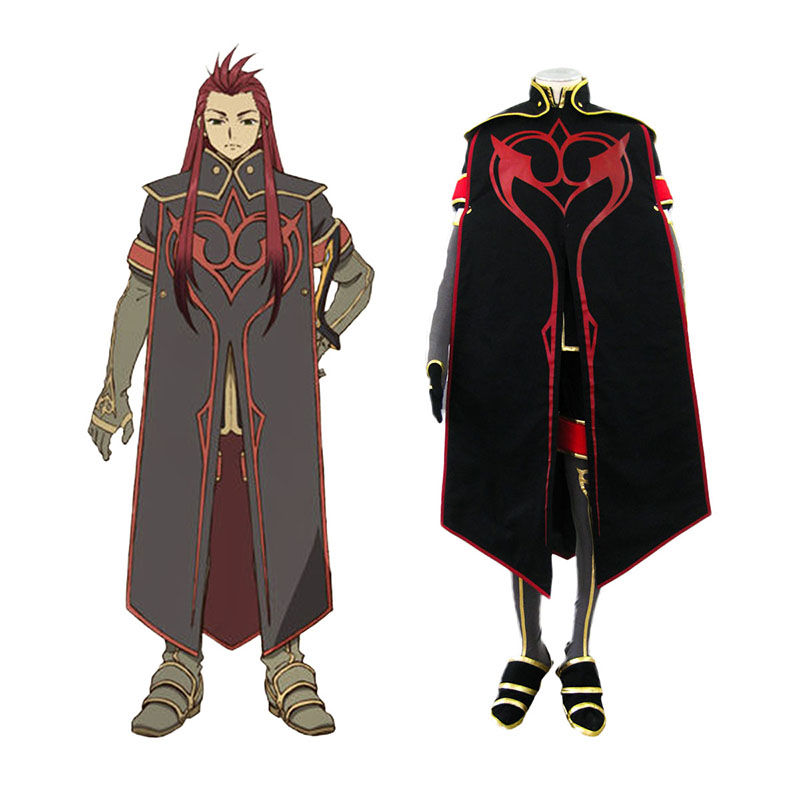 Tales of the Abyss Asch 1 Cosplay Kostumer Danmark Butik