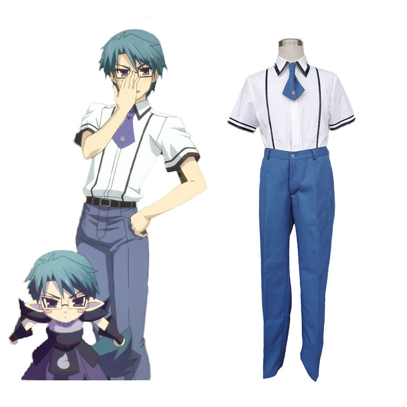 Baka and Test Male School Uniformer Cosplay Kostumer Danmark Butik