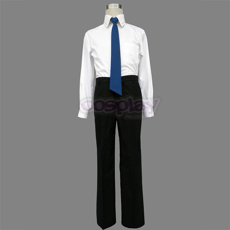 Little Busters Male School Uniformer Cosplay Kostumer Danmark Butik