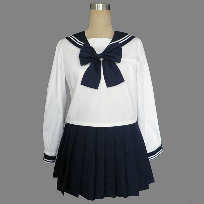 Long Sleeves Sailor Uniformer 9 Cosplay Kostumer Danmark Butik