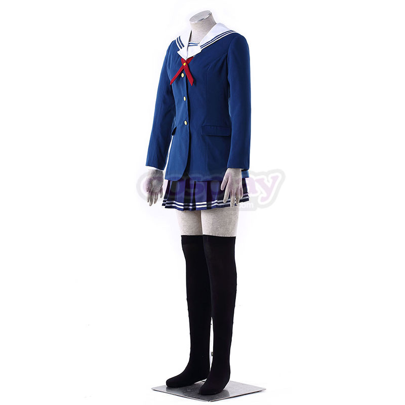 Saekano: How to Raise a Boring Girlfriend Toyogasaki Uniformer Cosplay Kostumer Danmark Butik