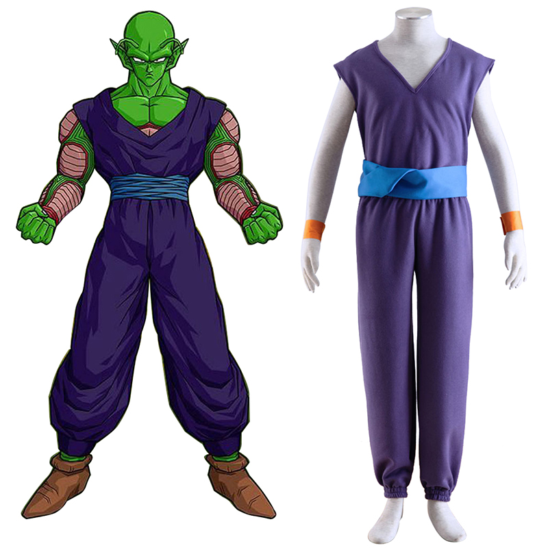 Dragon Ball Piccolo 1 Purple Cosplay Kostumer Danmark Butik