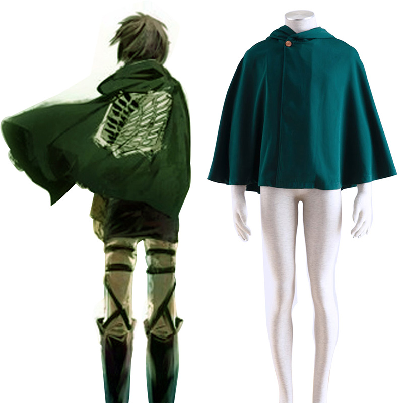 Attack on Titan Survey Corps Cloak 2 Cosplay Kostumer Danmark Butik