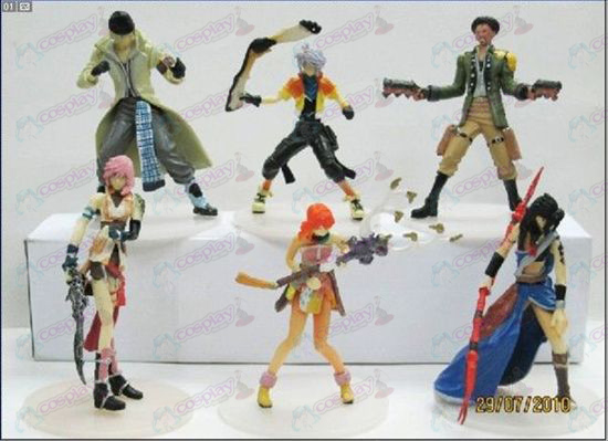 Limited Edition Final Fantasy Tilbehør Doll (8-9cm Paperback)