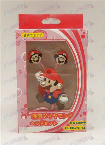 Diamond Super Mario Bros Tilbehør Voice Headset