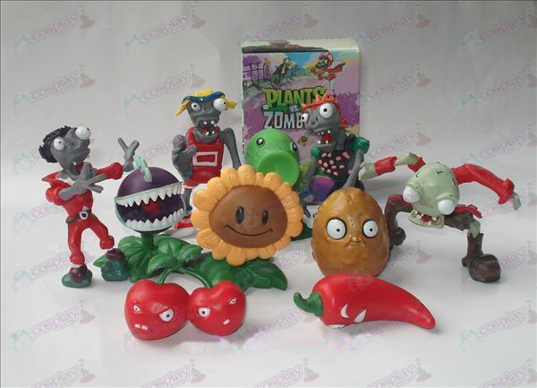 10 Plants vs Zombies Tilbehør Doll (boxed)