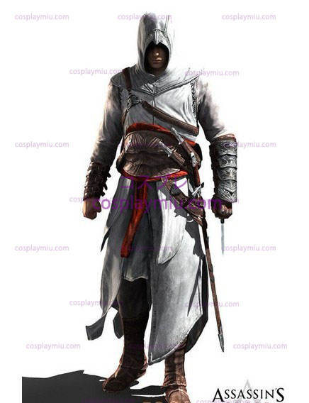 Assassin's Creed II Ezio Cosplay Hvid Edition