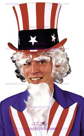 Uncle Sam Parykken Goatee Eyebrow G