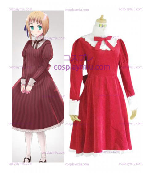 Axis Powers Liechtenstein Red Cosplay Kostumer