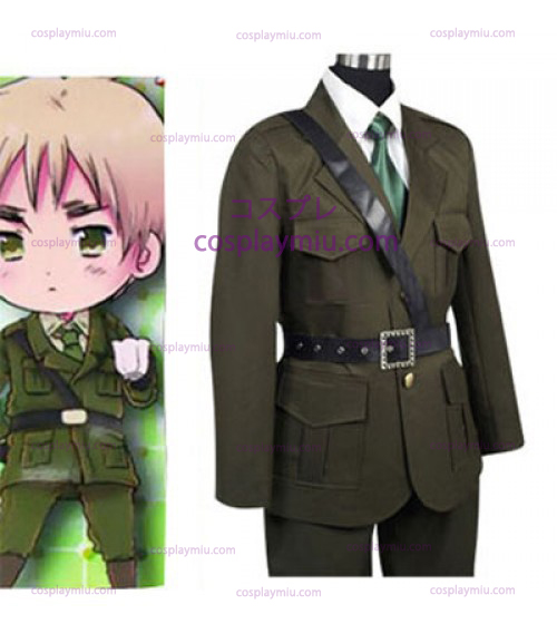 Hetalia: Axis Powers United Kingdom Arthur Kirkland Cosplay Kostumer