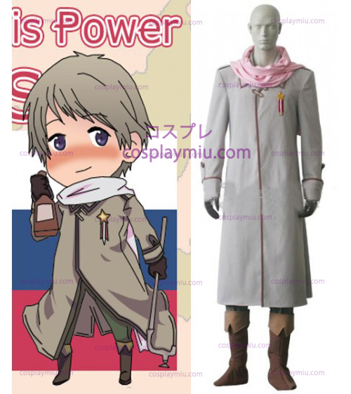 Russia Cosplay Kostumer from Axis Powers Hetalia