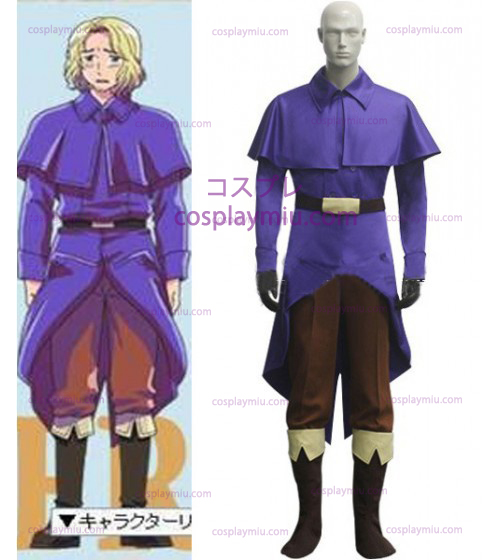 France Cosplay Kostumer from Axis Powers Hetalia