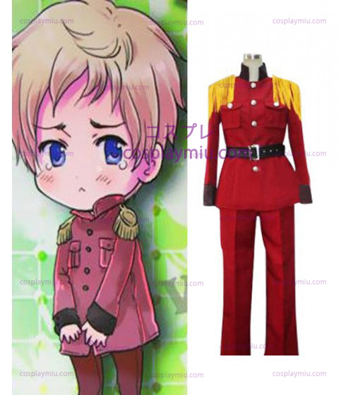 Hetalia: Axis Powers Latvia Halloween Red Cosplay Kostumer