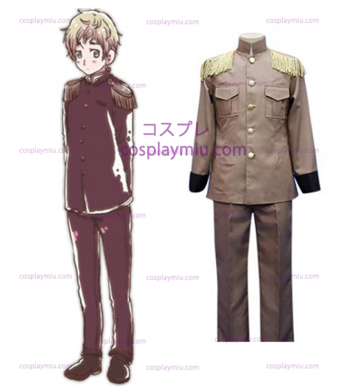 Hetalia: Axis Powers Latvia Galante Cosplay Kostumer
