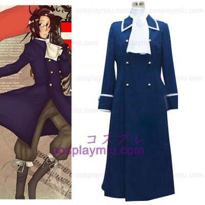 Hetalia Axis Powers Austria Cosplay Kostumer