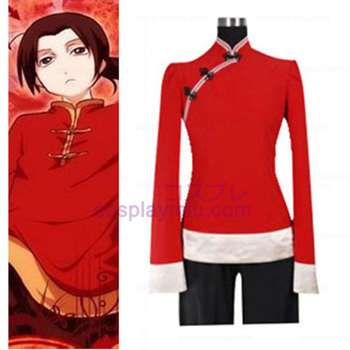 Hetalia Axis Powers China Cosplay Kostumer