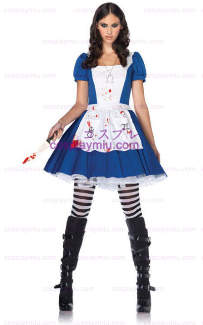 American Mcgees Alice in Wonderland Adult Kostumer