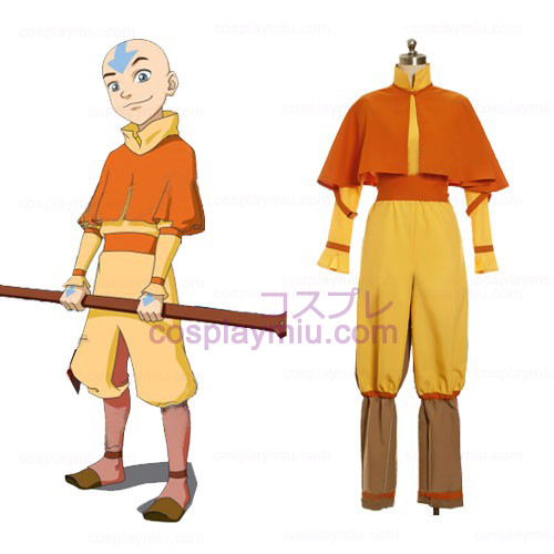 Avatar The Last Airbender Cosplay Aang Kostumer