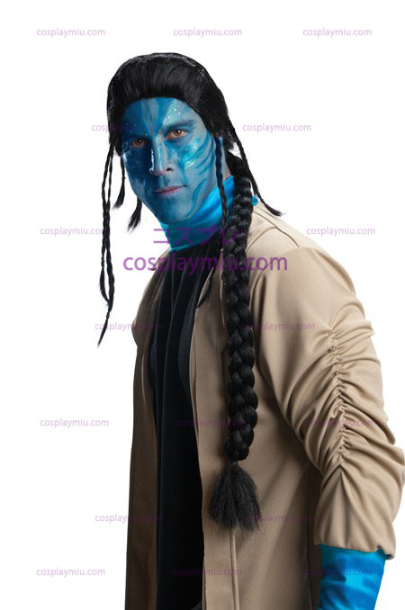Avatar Jake Sully Adult Parykken