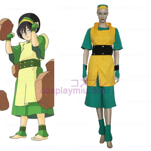 Avatar The Last AirBender Toph Cosplay