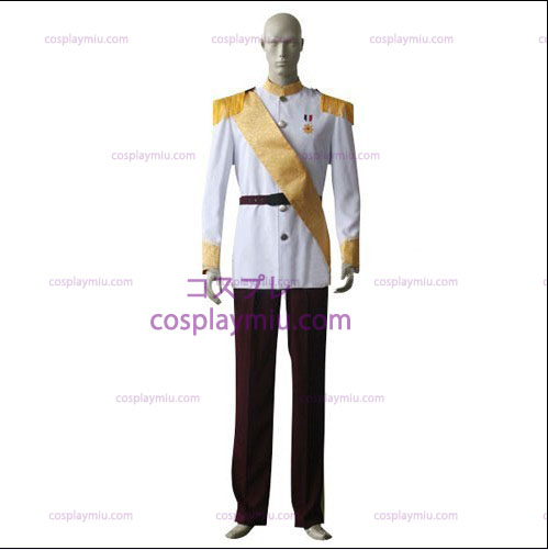 Hvid shirt Red Trousers Cosplay Kostumer