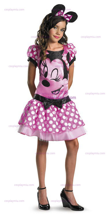 Clubhouse Minnie Mouse Pink Barn Kostumer