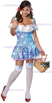 Secret Wishes Wizard Of Oz Sparkle Dorothy Adult Kostumer