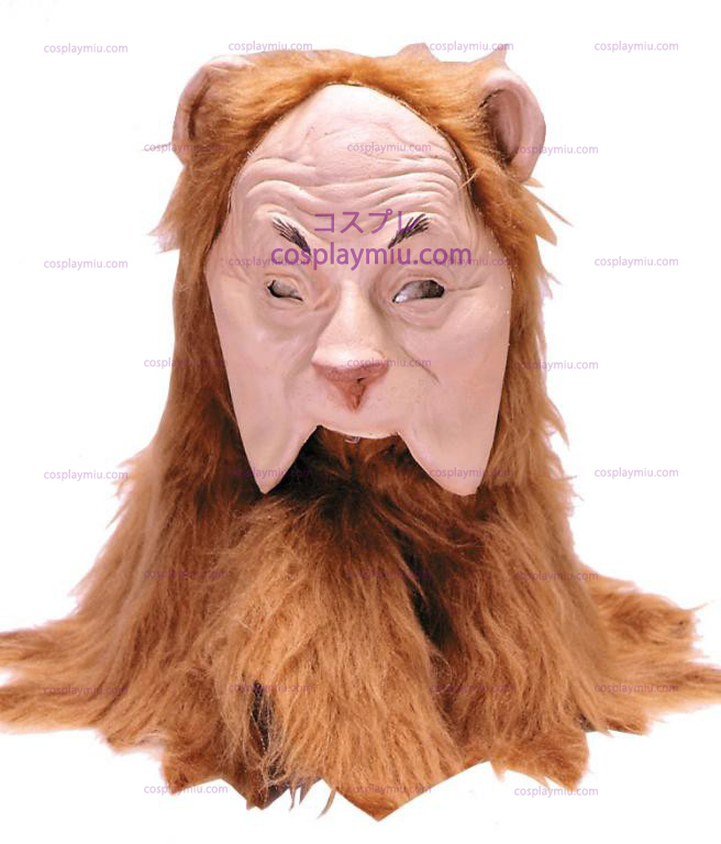 Wizard of Oz Cowardly Lion Adult Maske