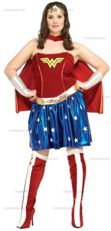 Wonder Woman Plus Size Adult Kostumer