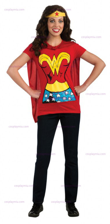 Wonder Woman Adult Shirt Kostumer