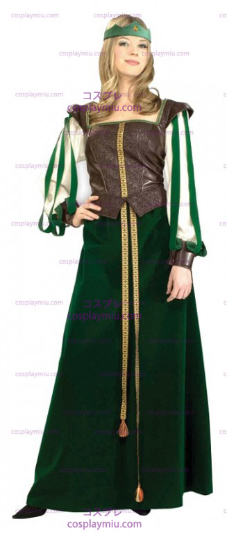Green Maid Marian Adult Kostumer