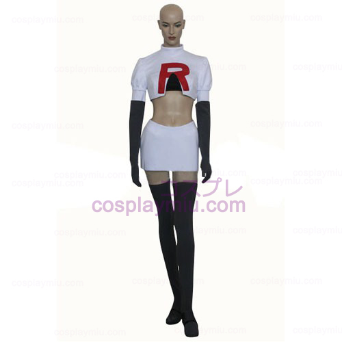 Pokemon Team Rocket James Cosplay Kostumer