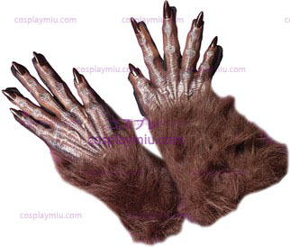 Gloves Werewolf Brun