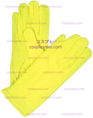 Gloves Nylon W Snap Neon Gul