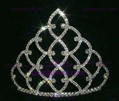Traditional Rhinestone Crown