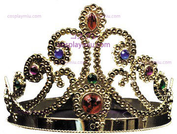 Jeweled Tiara Plastic