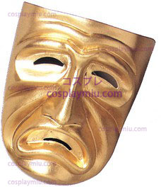 Tragedy Maske, Gold