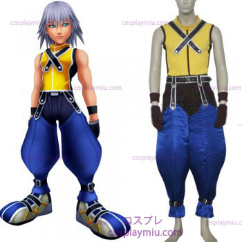 Kingdom Hearts 1 Riku Herre Cosplay Kostumer