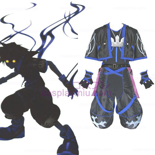 Kingdom Hearts 2 Anti Sora Herre Cosplay Kostumer