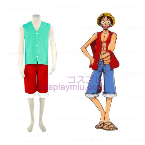 One Piece Luffy Cosplay Kostumer