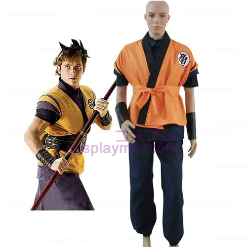 Dragon Ball Movie Goku Cosplay Kostumer