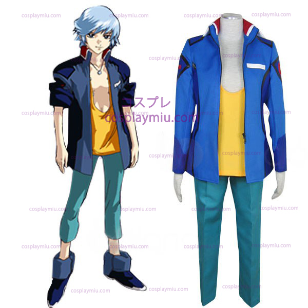Gundam Seed Destiny Earth Alliance Male Ensartet Cosplay Kostumer