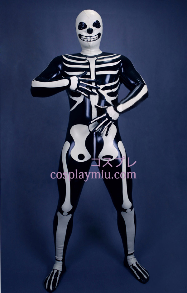 2013 Nye Skeleton Zentai Suit