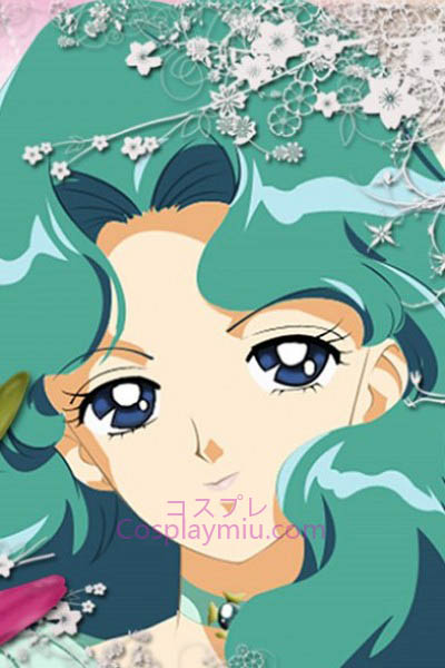 Sailor Moon Kaiou Michiru Sailor Neptune Cosplay Paryk